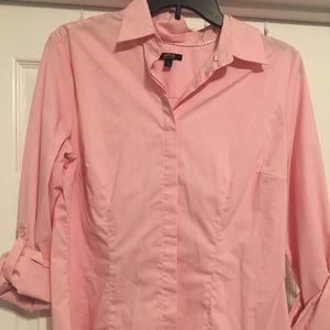 Women's Pink Button Down Shirt